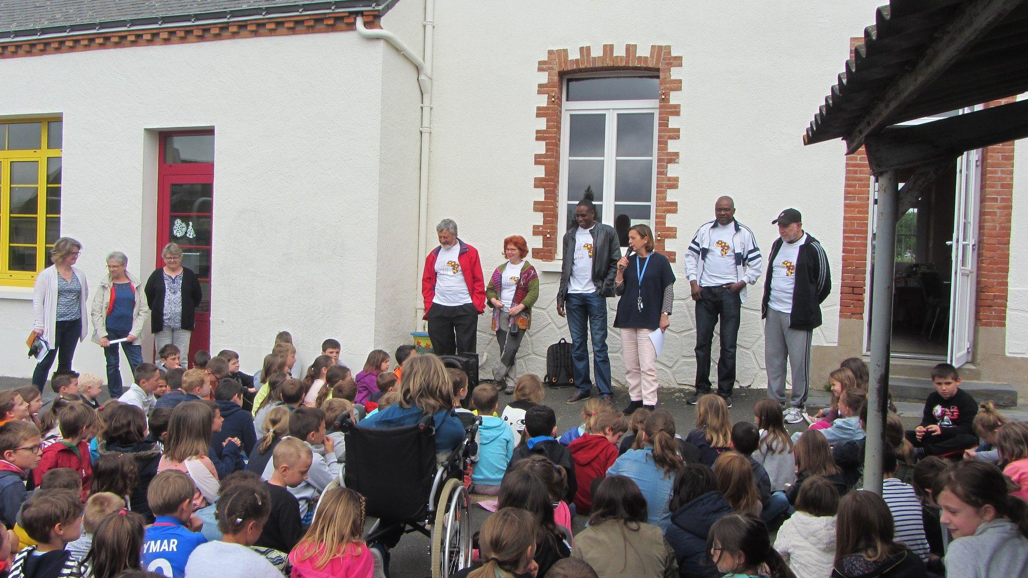 23/04/2018 : matinée de solidarité avec les enfants de l'Ecole St Joseph à Couffé