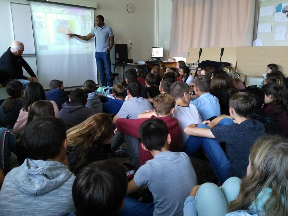 Présentation du projet des échanges éducatifs et socio-culturels entre les élèves français et camerounais